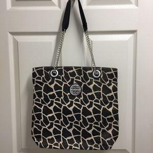 Kate Landry Bronze Animal Print Shoulder Bag
